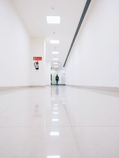 Reflection Indoors  Full Length Symmetry One Person Adult Architecture People California Dreamin The Minimalist - 2019 EyeEm Awards