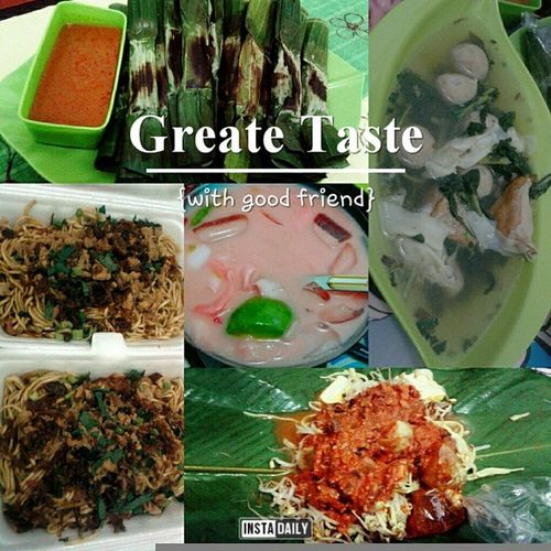 Today's culinary travelling+before-englishprivate-menu Miebangka Togegoreng Essekoteng Otakotak rotimaryam