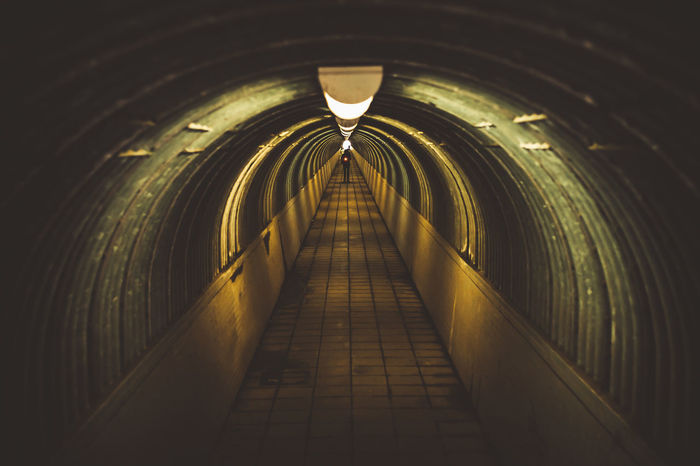 Arch Architecture Built Structure Ceiling Diminishing Perspective Direction Empty Footpath Illuminated Indoors  Light Light At The End Of The Tunnel Lighting Equipment Long No People Public Transportation Subway The Way Forward Transportation Tunnel Underground Walkway Underpass vanishing point