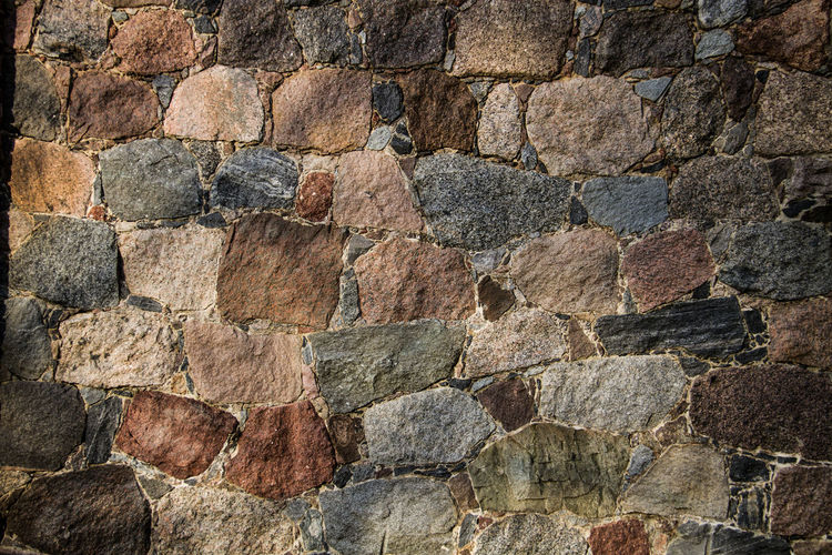 Abstract Architecture Backgrounds Building Exterior Built Structure Close-up Day Full Frame Nature No People Outdoors Pattern Rock - Object Rough Stone Material Textured  Wall - Building Feature