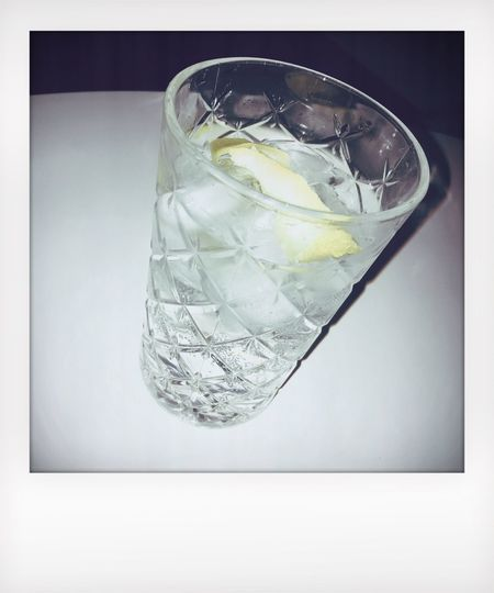 Food And Drink Drinking Glass Refreshment Studio Shot No People Ice Cube Drink Table Freshness Indoors  White Background Close-up Cold Temperature Tonic Water Day