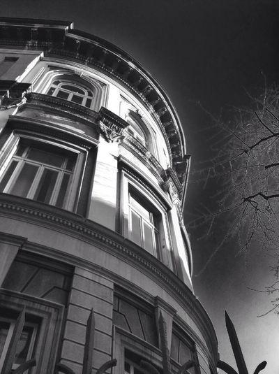 Blackandwhite Architectural Detail Building Milan University