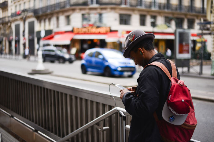 Built Structure Cap Day France French French People Men Montmartre Occupation One Person Outdoors Paris People Real People Snap a Stranger Standing Strange Street Street Art Street Photography Streetphotography The Photojournalist - 2017 EyeEm Awards The Street Photographer - 2017 EyeEm Awards Waling Around Walking By