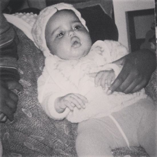Atileonithrowbackthursday Guesswho Startedfromthatnowimhere Withfilter notethepicturewascolored theoutfit chubbiness