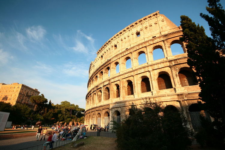 Amphitheater Ancient Ancient Civilization Arch Archaeology Architecture Building Exterior Built Structure Colosseum Day History Large Group Of People Men Old Ruin Outdoors People Real People Sky The Past Tourism Travel Travel Destinations Tree