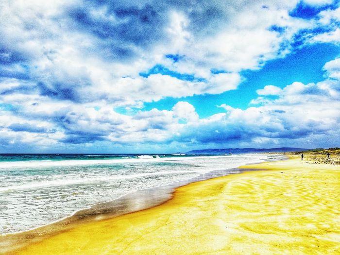 Beach Cloud - Sky Sand Sky Sea Nature Scenics