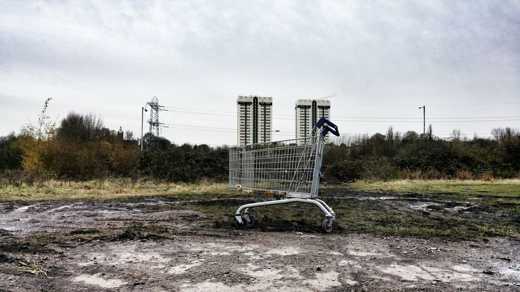 No People Nature Outdoors Sky Day Tree Trolly Shopping Architecture Decay Streetphotography Derelict Abandoned Places The Street Photographer - 2017 EyeEm Awards
