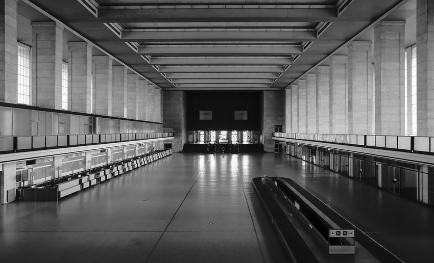 Interior of berlin tempelhof airport