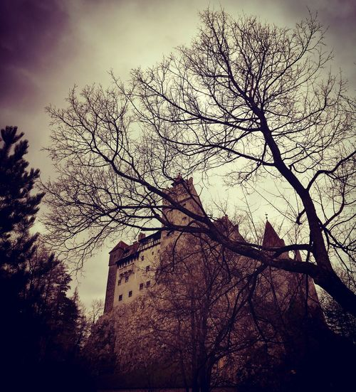 Castle Bran, the House of Dracula. It is a mystic plaCe! Outdoors Architecture No People Castle Dracula's Castle Transilvania, Romania Horror Photography Horror In Nature