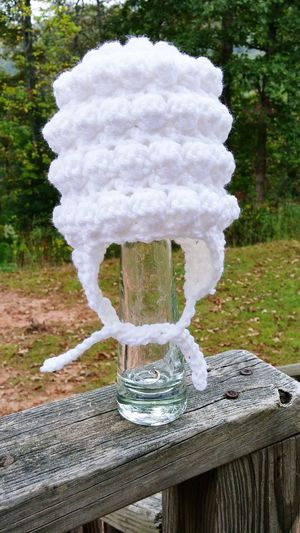 Snowball Newborn Hat Crochet Crochetlove My Crochet Creations Crocheting Is My Hobby Crochetaddict Crochethat Crochetbaby Crochetlover