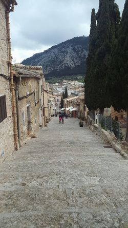 Love That Place Mallorca Landscape Traveling Travel Photography Stairs Mountains Old Buildings Cest La Vie Clouds Taking Photos Relaxing Travel Destinations