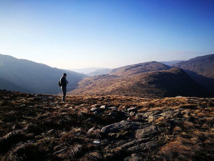 Adventure Exploration Mountain Range Mountain Outdoors Hiking Ireland Mountains Landscape Beautiful Nature Scenic Landscapes