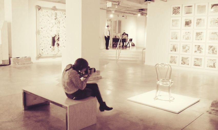 Art Takingpictures, Hangingout, Soaking It All In