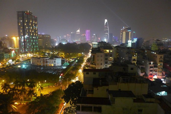 Saigon by night City Lights Cityscapes Ho-Chi-Minh City Learn & Shoot: After Dark Lights Night Lights Night Photography Night View Saigon Travel Photography Vietnam