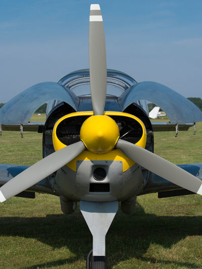 Propeller of an airplane engine Aeronautics Clipper Oltimer Aircraft Aerobatics Air Show Aircraft Aircraft Wing Airport Aviator Biplane Drive Flight Flying Pilot Propeller Plane Sport Aviation