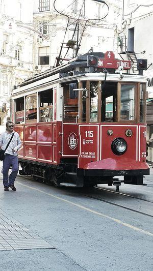 Istanbul Turkey Istiklal Caddesi Istiklal Street Hello World Hola! Tram Beyoğlu Taksim Estambul