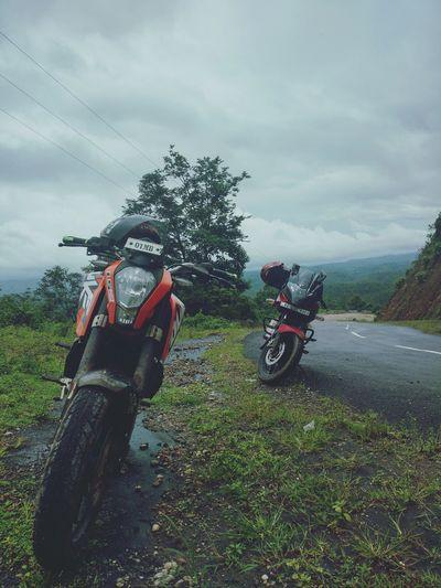 Mairang Ktm Biking Bikers Mountains Monsoonseason Ls2helmet Meghalaya Nature Hills