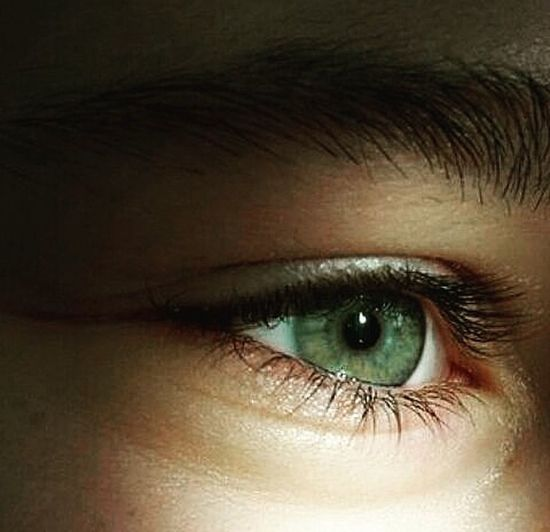 Глаз, который смотрит в идеальное будущее, но это не точно Eyebrow One Person Eyelash Hazel Eyes  Close-up