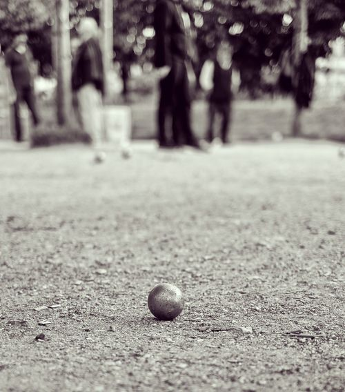 The Week On EyeEm Ball Focus On Foreground Day Outdoors Sport Close-up Petanque Pétanque Balls Black & White Blackandwhite FUJIFILM X-T10 Fujifilm_xseries Fujifilm Paris