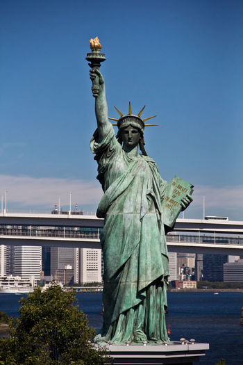 Liberty Statue Japan Liberty Statue Odaiba Odaiba Odaiba River View Tokyo Tokyo,Japan