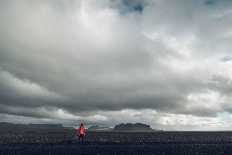 Iceland Cloud - Sky Iceland Trip Moon Reykjavik Mountain Landscape Grey