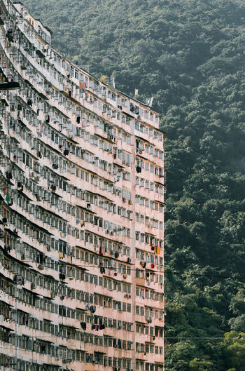 HongKong Urban Geometry Apartment Architecture Building Building Exterior Built Structure City Day Green Color Growth High Angle View Nature No People Outdoors Plant Residential District Sea Sunlight Tree Water Window The Architect - 2018 EyeEm Awards The Still Life Photographer - 2018 EyeEm Awards