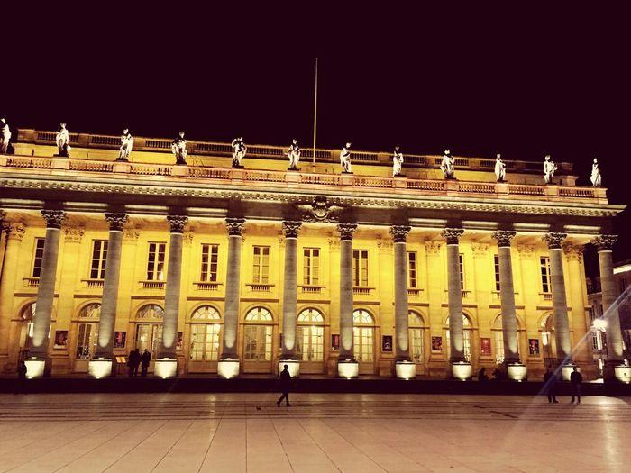 Bordeaux, France Grand Theatre Bordeaux Opéra De Bordeaux Muses