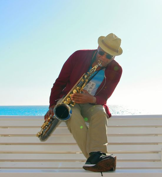 Sax Saxophone Cool France Seaside Feeling Good Music Musical Instrument Music Musician One Man Only Only Men Adults Only Adult The Street Photographer - 2018 EyeEm Awards