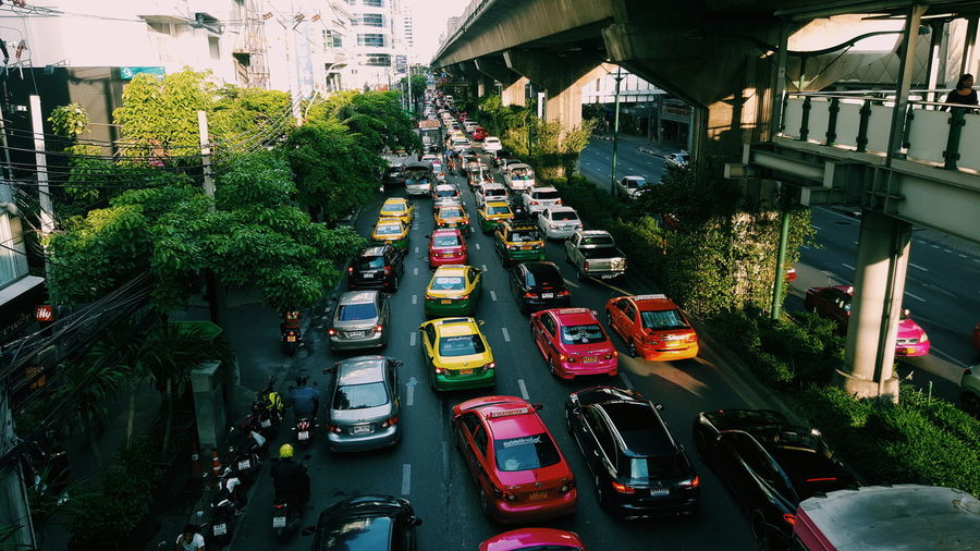 ThailandOnly Thailand Thailand Traffic Bangkok Bangkok Thailand. Bangkok City Traffic Jam First Eyeem Photo Surasak Wannavong