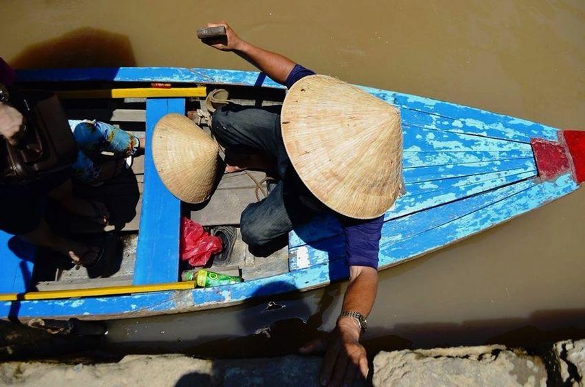 Mekong River. Vietnam Hochiminhcity Mekong River Summer2015