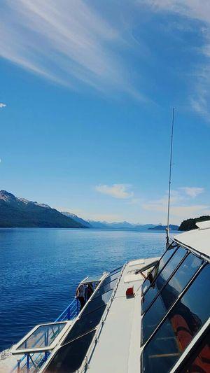 Sailing Lago Nahuel Huapi Patagonia Argentina Lake View