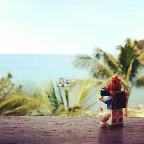 Travel to koh Samui Kohsamui Legographer Legofan LEGO Chicken Sea Summer Travel Thailand Seaside Samui Samuitrip