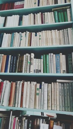 Books ♥ Library My Love ♥ World Picture Photography Photo Russian Classic Day Large Group Of Objects Variation In A Row Full Frame Shelf Backgrounds No People Bookshelf Day Close-up Indoors  Only Likeforlike Instafollow