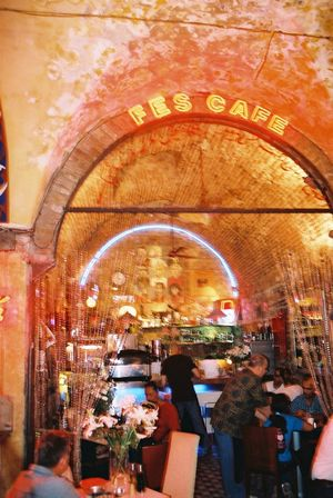 Fes Cafe, Grand Bazaar Arch Built Structure Cafe Composition Fes Food And Drink Full Frame Grand Bazaar Illuminated Incidental People Indoor Photography Indoors  Istanbul Leisure Activity Lifestyles Lighting Equipment Market Orange Colour Restaurant Retail  Store Tourist Attraction  Turkey