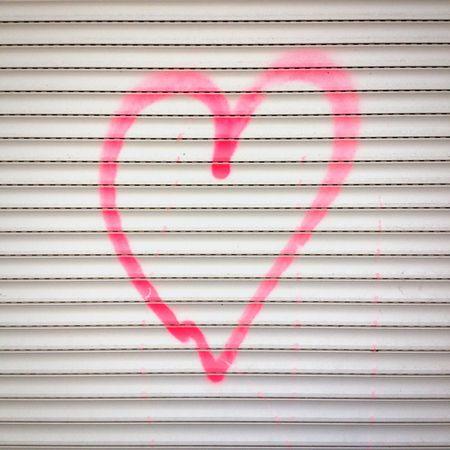 Heart Love Graffiti Streetart Valentine's Day