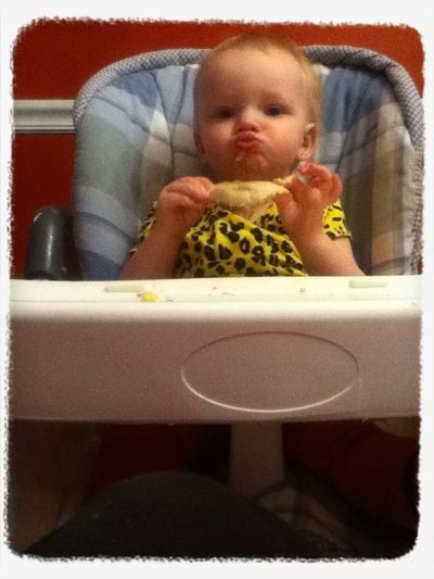 Baby Sis Doing Duck Face