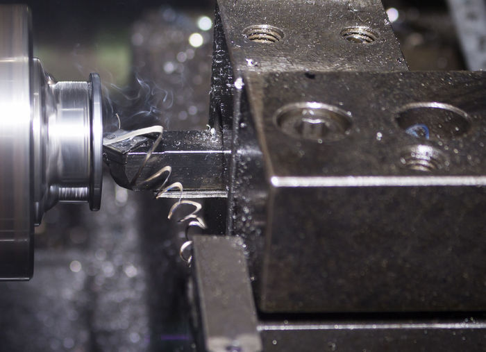 Alloy Business Close-up Detail Equipment Factory Focus On Foreground Glass - Material Indoors  Industry Lathe Machine Part Machinery Machining Man Made Manufacturing Equipment Metal Motion No People Selective Focus Steel Technology
