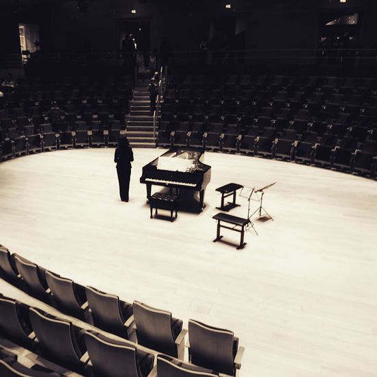 Auditorium Arts Culture And Entertainment Seat Indoors  Concert Hall  Music Concert EyeEmNewHere Piano