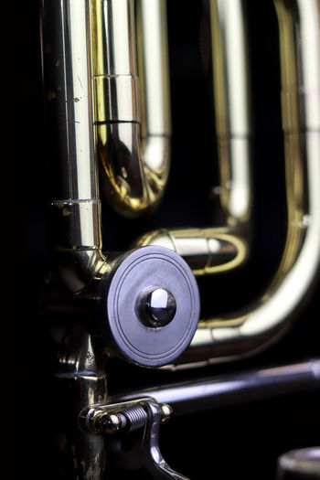 Music Instrument Trombone Metal Close-up No People Brass Instrument  Musical Instrument Music Indoors  Brass Transportation Arts Culture And Entertainment Mode Of Transportation Focus On Foreground Trumpet Shiny Day Silver Colored Lighting Equipment Reflection Food And Drink