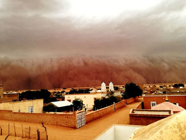 Haboob Sand Storm Mauritanie Brakna Perspectives On Nature