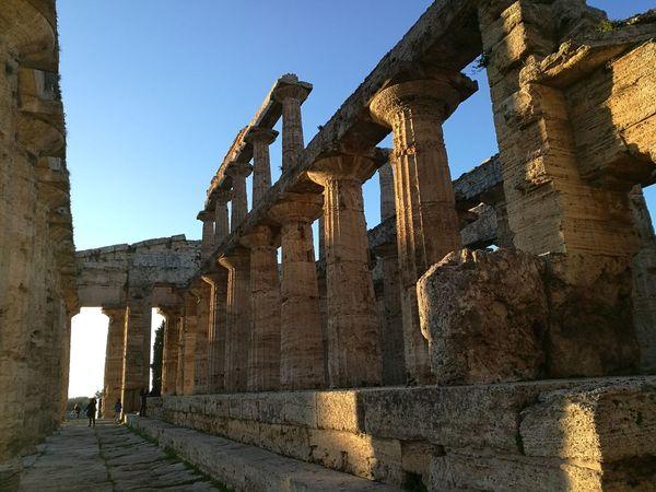 Tempio di Nettuno Architectural Column History Cultures