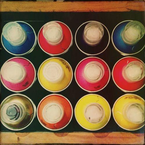 Bang On Target Cans Paint Colors Graffiti Riodejaneiro Igersrio Lata Streetart/graffiti Streetart