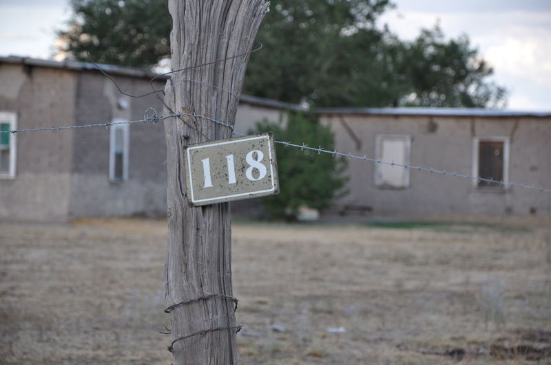 Number Signage Indication Address Address Sign Addressing Address Numbers Mexico Menonitas House Living Rural Country Side Wood