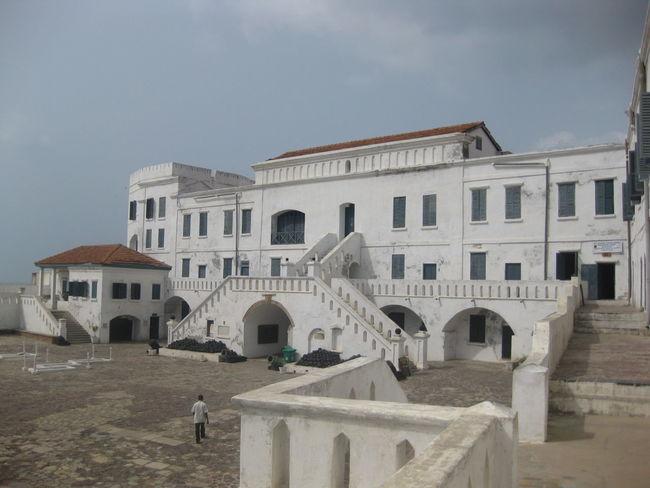 Architecture Built Structure Cape Coast Cape Coast Castle Ghana Historic Slavery