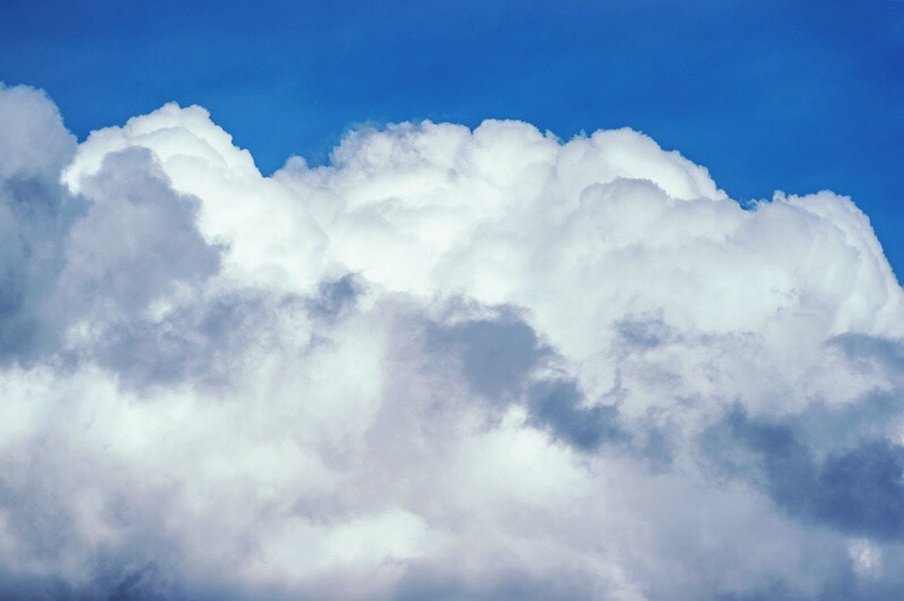 cloud - sky, nature, cloudscape, sky, beauty in nature, weather, heaven, backgrounds, sky only, white color, no people, tranquility, outdoors, day, blue, scenics, low angle view