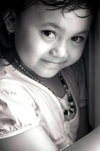 The simple smile of Aliya EyeEm Indonesia Eye4photography  EyeEm Best Shots - People + Portrait EyeEm Best Shots