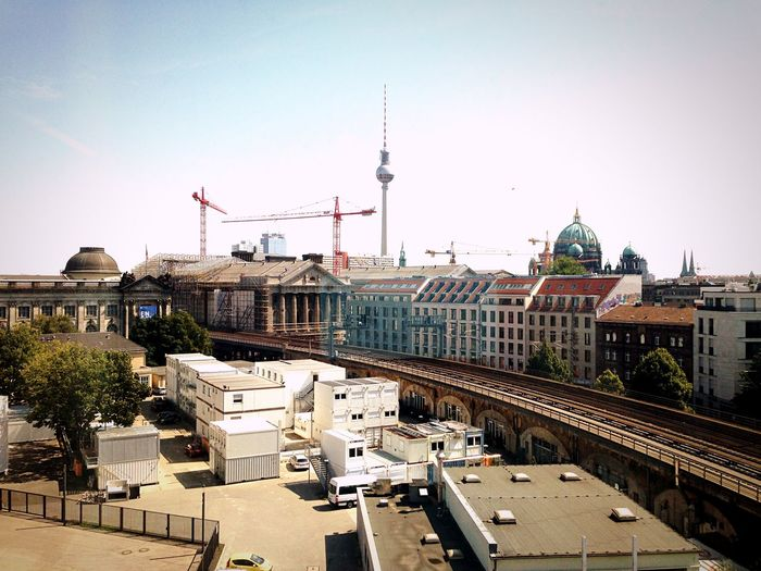 Berlin-Mitte a.k.a. the eternal Construction Site ! Cityscapes