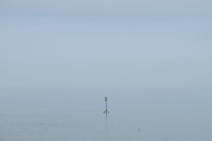 Brighton Calm Fog Outdoors Sea Tranquility Water