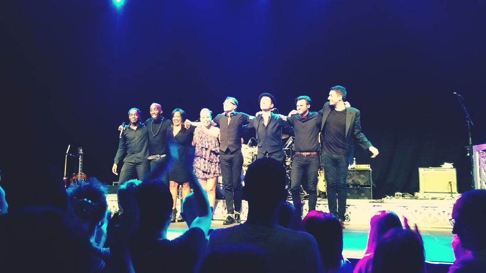 Rebecca Ferguson & crew final bow. Awesome show from start to finish. Muffathalle München