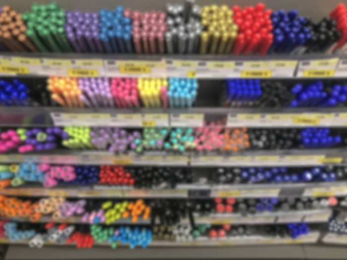 Blurred Sell Sale Background Art Design Child Kid Draw Sample Shelf School Store Education Shop Pencil Colorful Business Pen Office Color Marker Rainbow Blue Yellow Drawing Pink Multicolored Stationary Colour Object Ink Group Equipment Tool Creativity Row Pens Product Show Knowledge Market Study Storage Stack Collection Accessories Learn Idea Buy